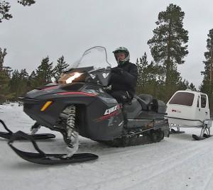 Engerdal Snøscooter Klubb bruker mye ressurser på å sørge for at brukerne av løypene får den nødvendige informasjonen om lover og regler.