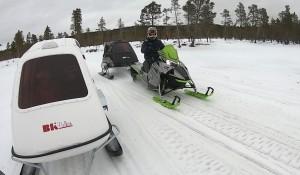 Drømmen til den lokale snøscooterklubben er å knytte løypene sammen med nabokommunene. Det vil gi et fantastisk løypenett.